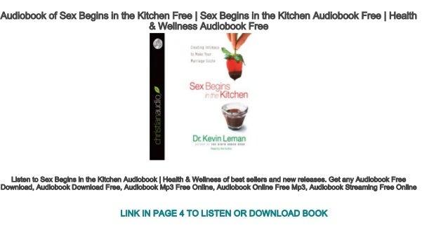 Listen to sex in the kitchen
