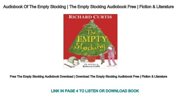 Audiobooks Of The Empty Stocking The Empty Stocking Audiobook Free