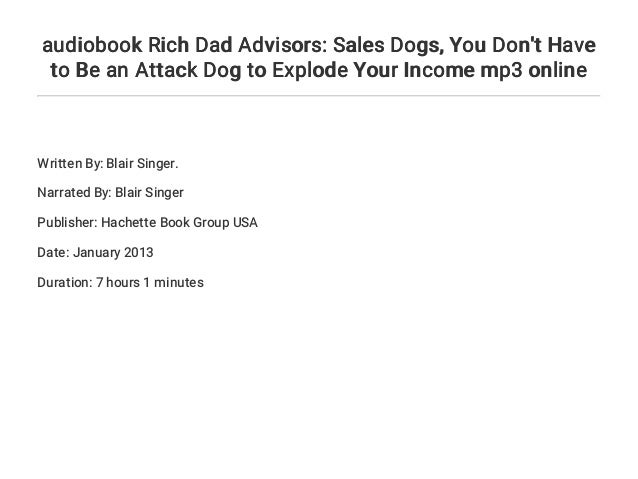 Sales Dogs Book