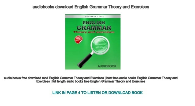 english grammar mp3 audio free download