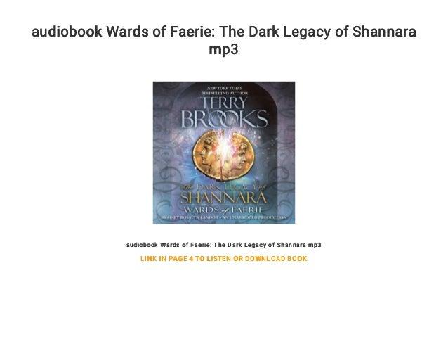Wards of Faerie The Dark Legacy of Shannara