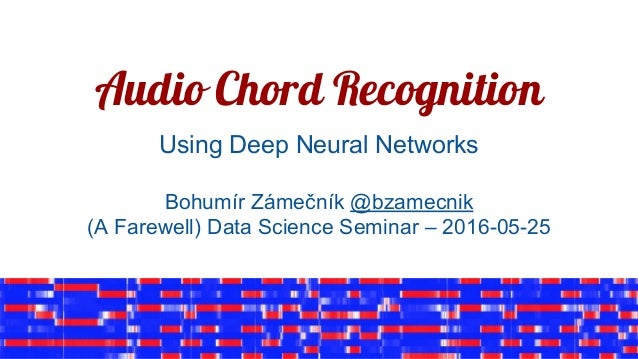 Audio chord recognition using deep neural networks