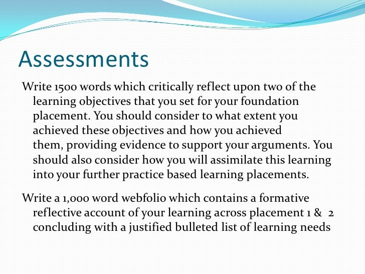 Writing a meaningful Reflection For Appraisal
