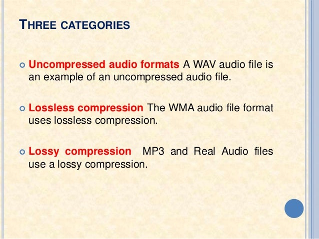 how to change audio file format