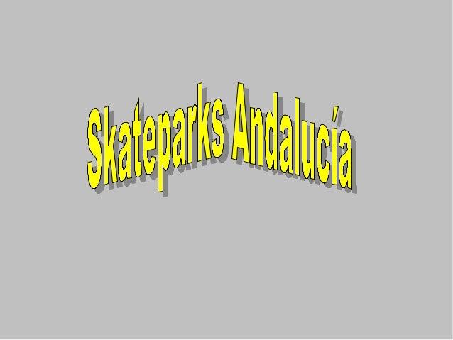 skateparks andaluc u00eda