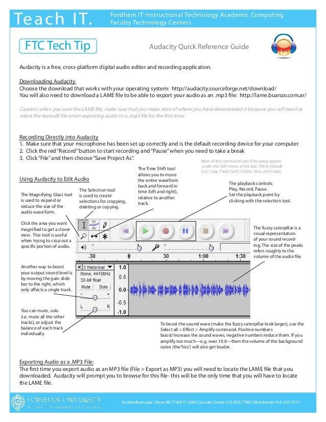 Te a c h I T.                                  Fordham IT Instructional Technology Academic Computing                     ...