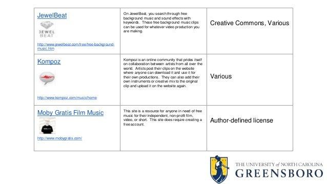 Audio, Image & Video Resources