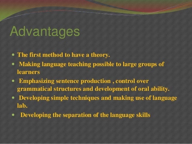 comparison between the audio lingual method 4 - the audiolingual method - free download as pdf file (pdf), text file (txt) or read online for free  compare and contrast between the audio-lingual method .