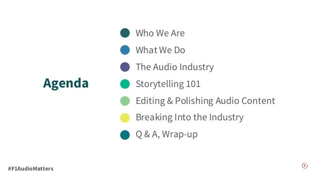 Audio Matter: An Intro to Podcasting & Storytelling Slide 3