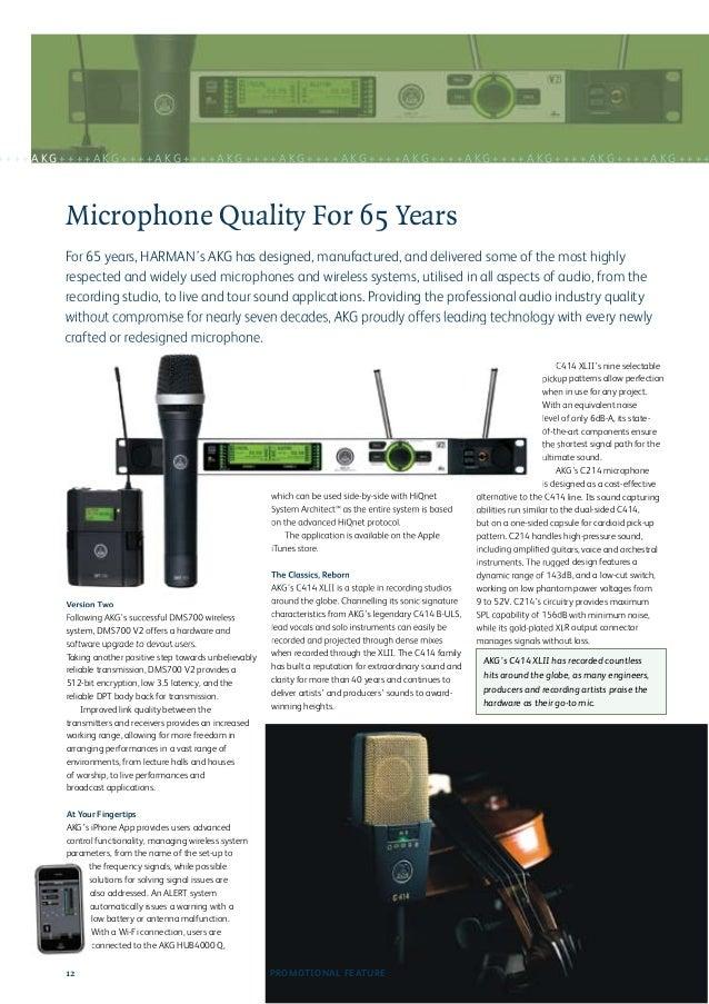 Audio Media Microphone Guide 2012