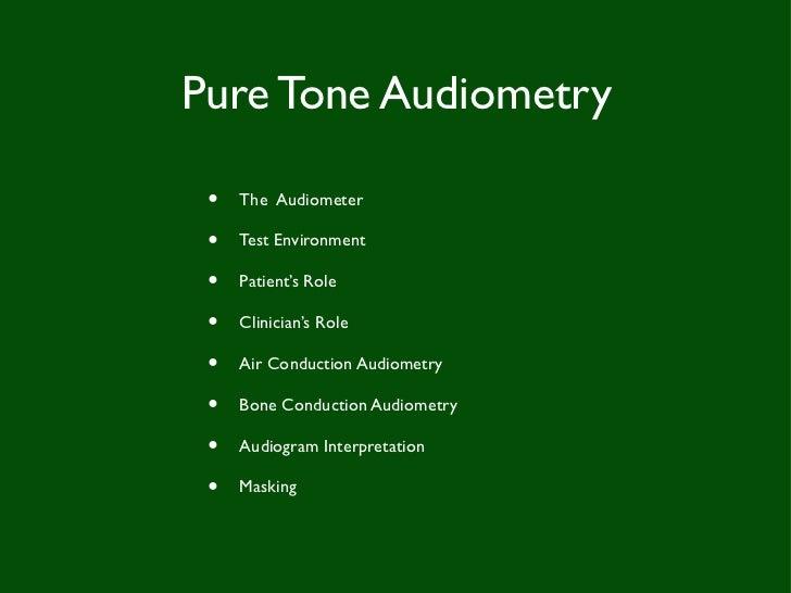 Audiometery soft copy Slide 2