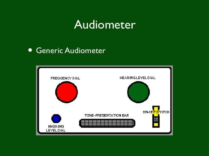 Audiometery soft copy Slide 3