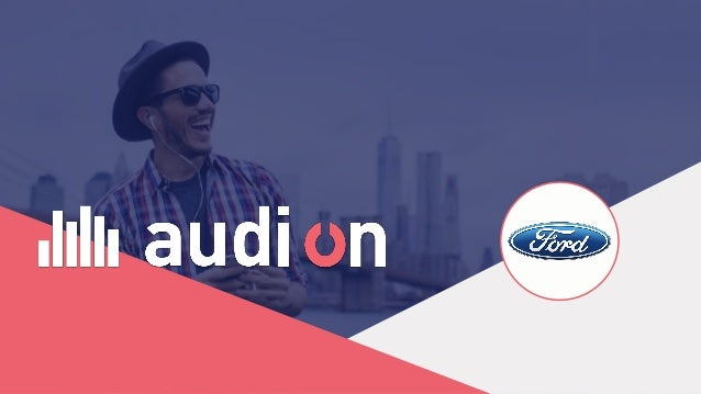 Audion provides technical solutions and services in order to increase the value of creatives, data, broadcasting and measu...