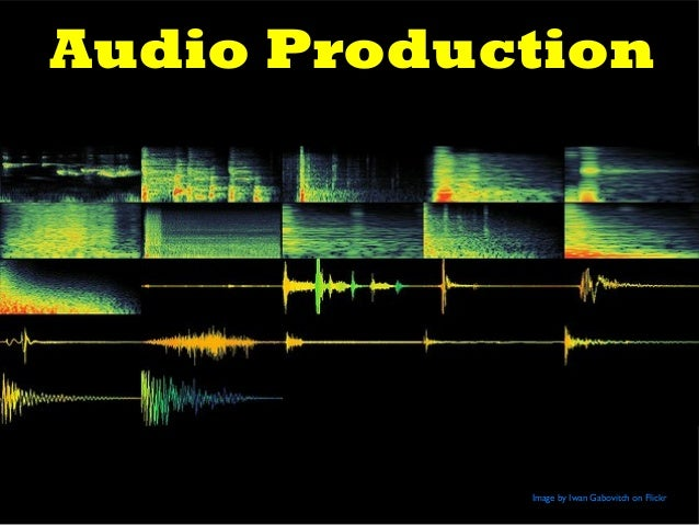Audio Production Image by Iwan Gabovitch on Flickr