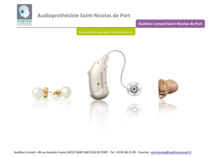 Audioprothesiste saint nicolas de port - Clinique veterinaire saint nicolas de port ...