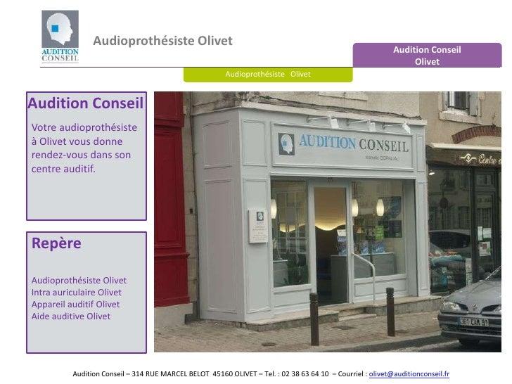 Audioprothésiste Olivet<br />Audition Conseil <br />Olivet<br />Audioprothésiste   Olivet<br />Audition Conseil<br />Votre...