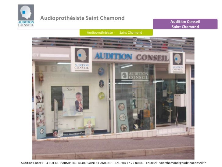 Audioprothésiste Saint Chamond<br />Audition Conseil Saint Chamond<br />Audioprothésiste        Saint Chamond<br />Auditio...
