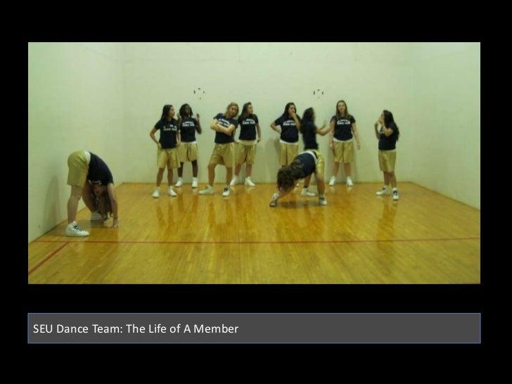 SEU Dance Team: The Life of A Member<br />