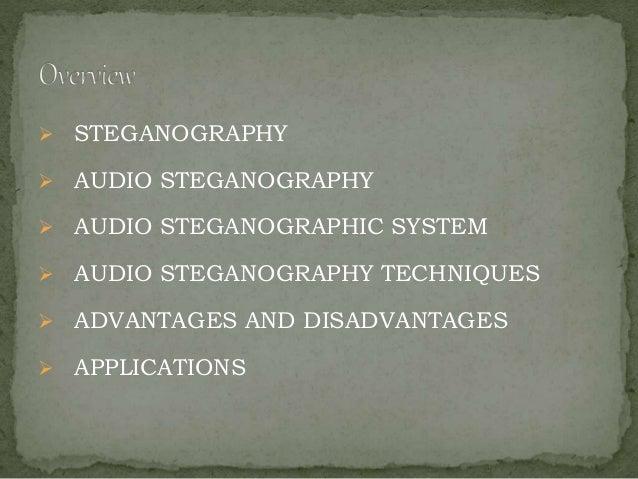 Audio steganography  Slide 2