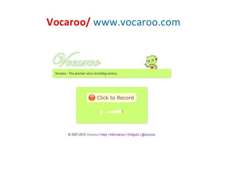 Vocaroo/ www.vocaroo.com