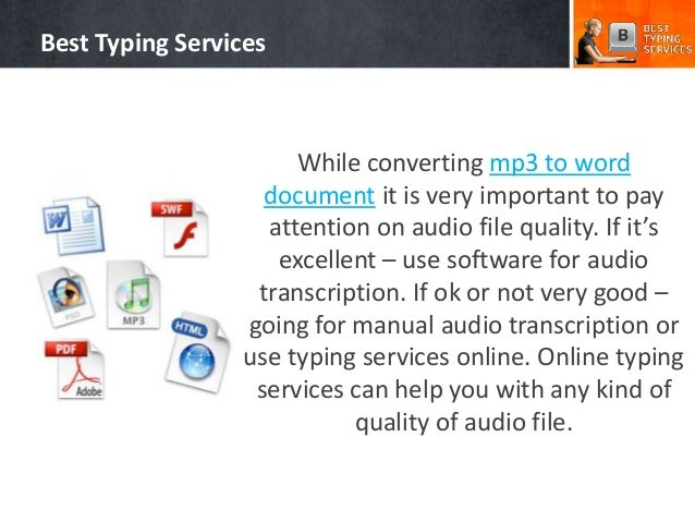 How To Convert Audio To Word Document