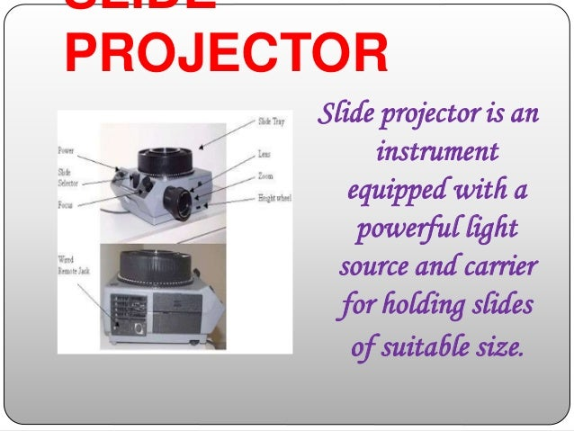 projected audio visual aids pdf