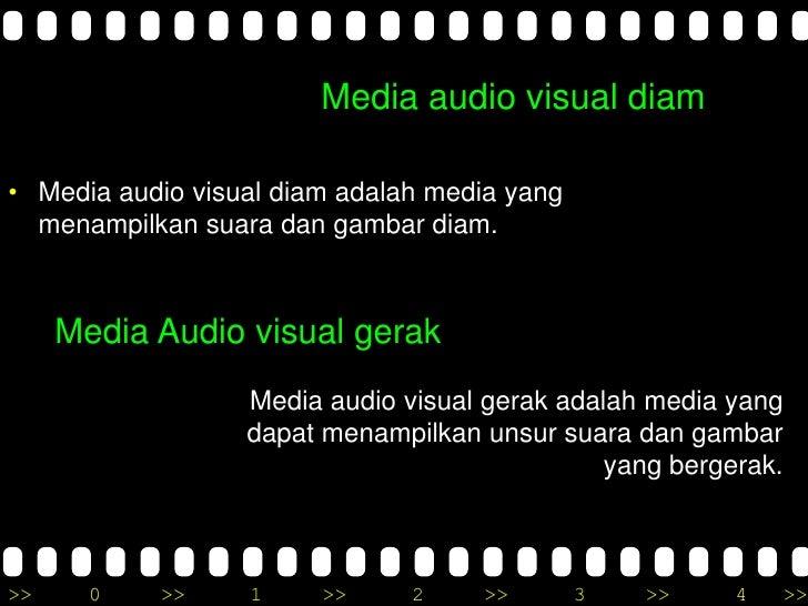 Media Pembelajaran Visual Dan Audio Visual Media Dan Teknologi Pembelajaran Audio Visual