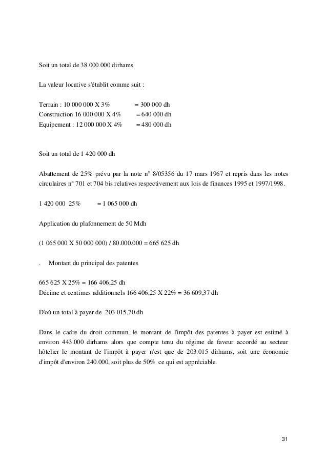 Audit Fiscal Des Entreprises Hotelieres