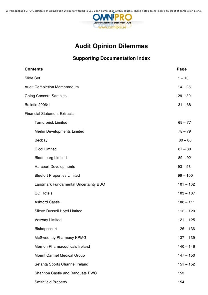 Audit opinion dilemmas 2 728gcb1335762459 cpdstore 2 publicscrutiny Images