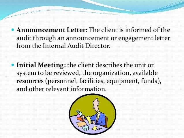 Best photos of internal audit result letter audit engagement.