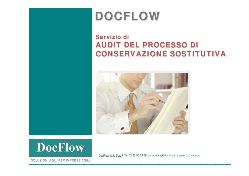 DOCFLOW                                                                       Servizio di                                 ...