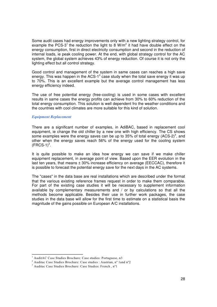 Auditac tg10 case studies