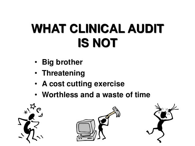Audit and stat for medical professionals