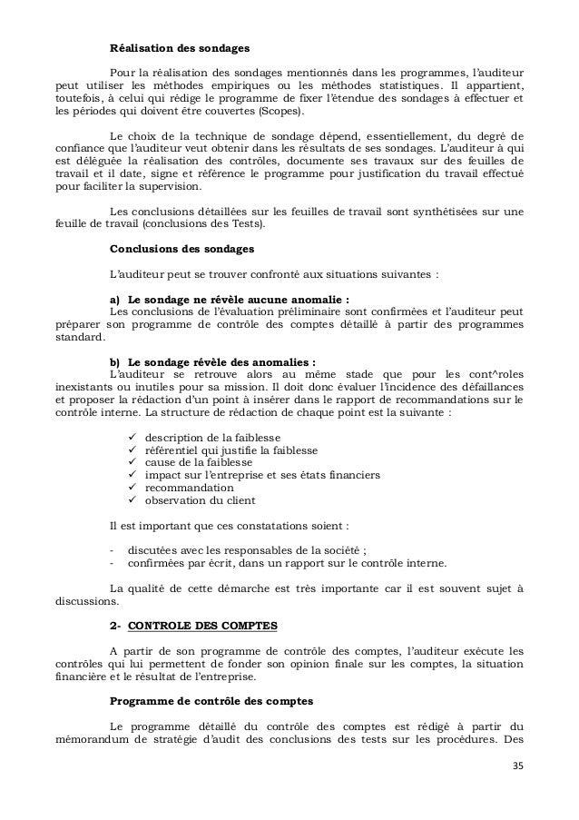 section 530 datant du rapport de l'auditeur indépendant lesbiennes rencontres conseils conseils