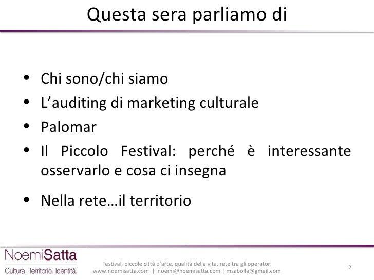 Festival, piccole città d'arte, qualità della vita, rete tra gli operatori - Il ruolo del Piccolo Festival della Letteratura nella vita culturale di Bassano del Grappa Slide 2