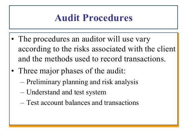 Audit evidence a framework (ppt ch7[1] pdf)