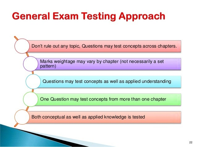 Don't rule out any topic, Questions may test concepts across chapters. Marks weightage may vary by chapter (not necessaril...
