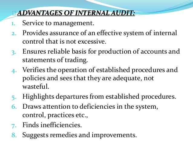 disadvantages of internal controls Control monitoring process the communication is to include a summary of all known weaknesses in internal control that could have a material effect on financial reporting and federal program compliance along with the related corrective action or recommendations this communication may be ongoing and.