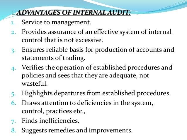 advantages of independent audit