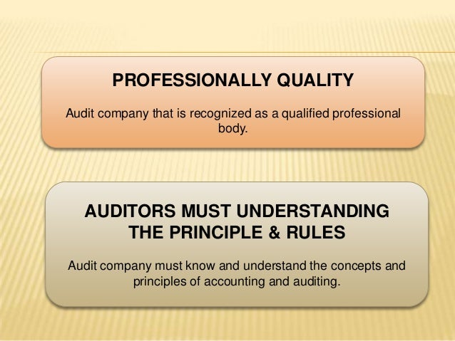 advance auditing concepts and standards Advanced international financial reporting standards (ifrs) have been adopted by more than one hundred countries and are the most widely used financial reporting standards in the world.