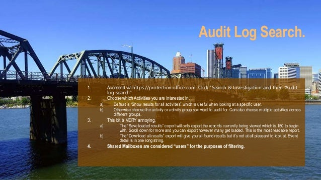 Auditing in SharePoint Online