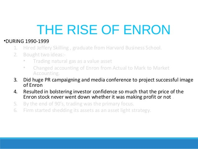 enron crisis of confidence Case study one: enron corporation richa chopra kaplan university case study one: enron corporation the enron debacle created what one public official reported was a crisis of confidence on the part of the public in the accounting profession lists the parties who you believe are most responsible for the crisis.