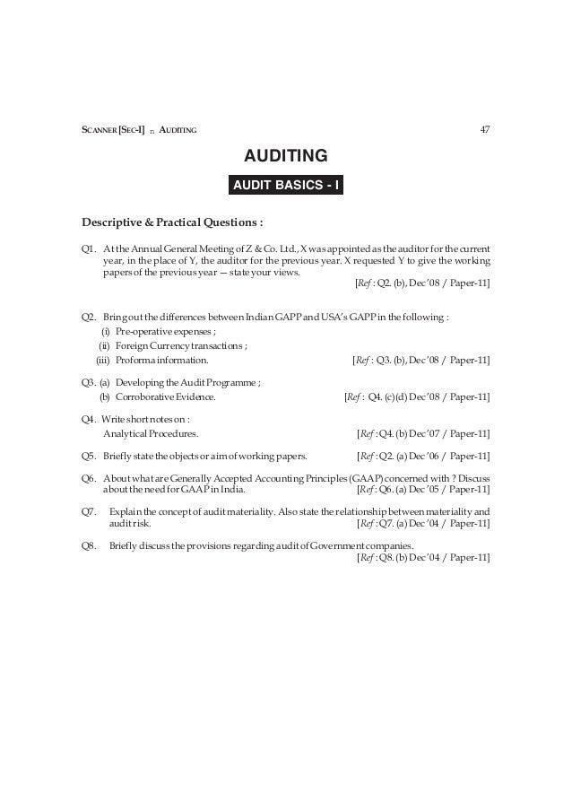 SCANNER [SEC-I] n AUDITING                                                                          47                    ...
