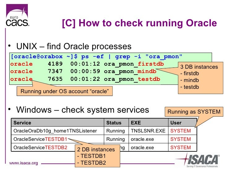 Auditing security of Oracle DB (Karel Miko)