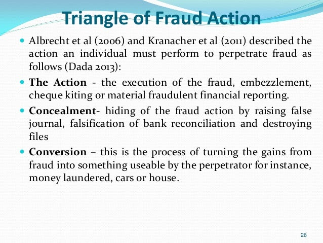 investigation by a forensic accountant Forensic accounting and fraud investigation methodologies are different than internal auditing thus forensic accounting services and practice should be handled by.