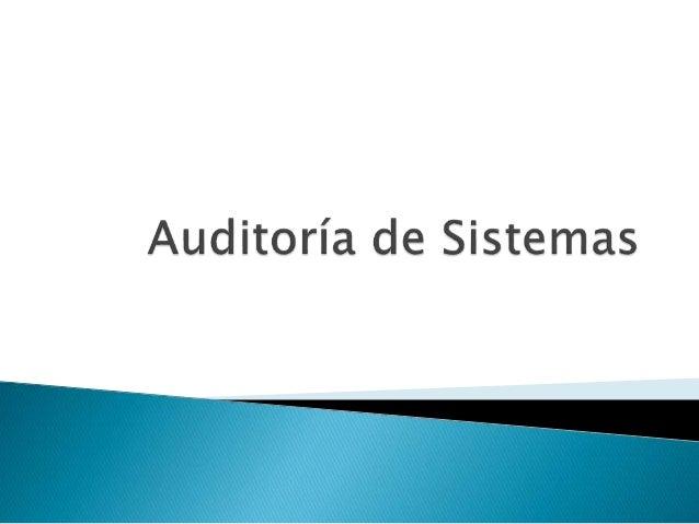 El término Auditoría se emplea  incorrectamente y los empleados lo asocian  con evaluación para detectar errores y señalar...