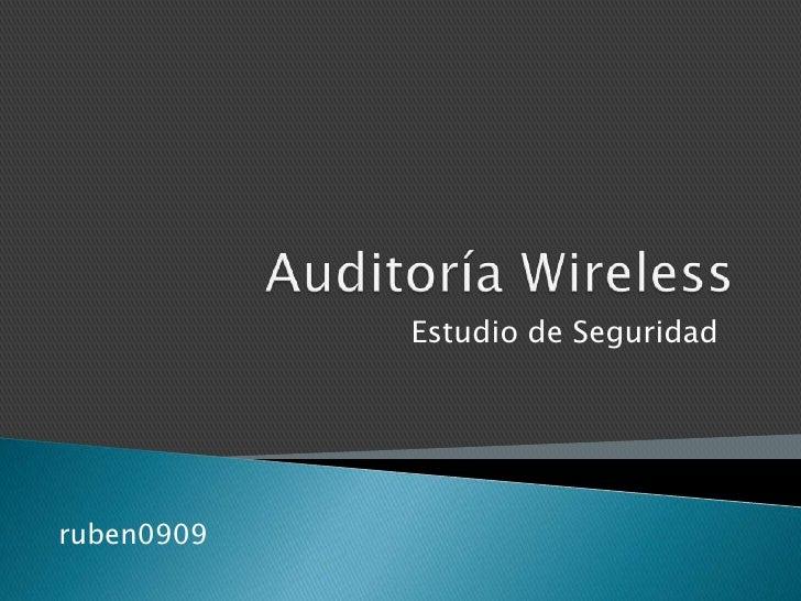 Auditoría wireless