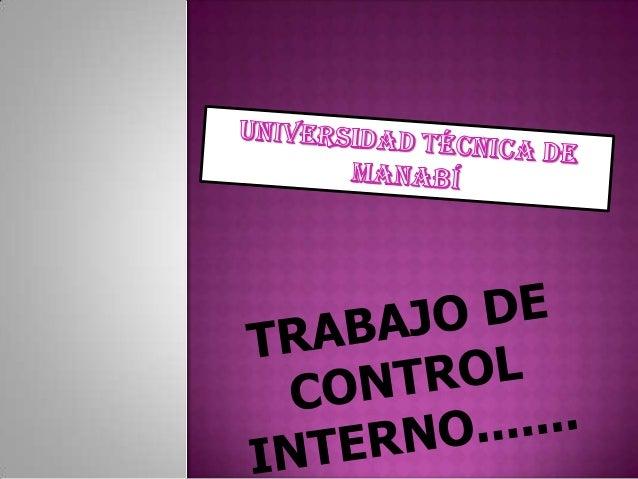 CONTROL INTERNO ENEL AREA DE CAJA YBANCO
