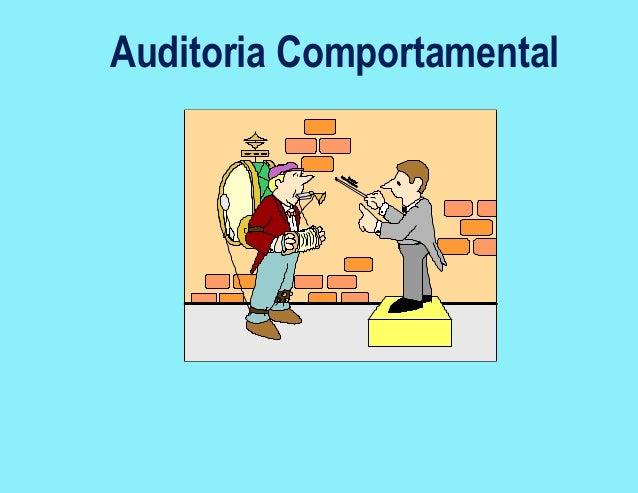 Auditoria Comportamental