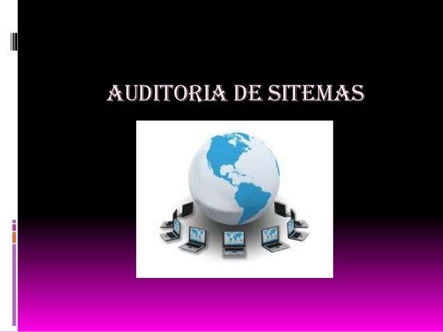 AUDITORIA DE SITEMAS